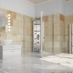 Neues Bad und Dusche, Naturstein. Max Demmelmair GmbH