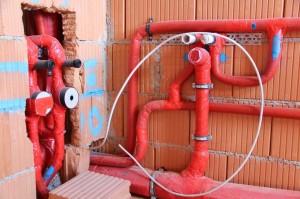 Demmelmair Neubau, Wasserinstallation